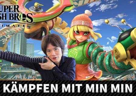 Unaltered Magazine: Min Min aus Arms gesellt sich zu Super Smash Bros Ultimate