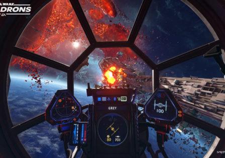 Unaltered Magazine: Star Wars Squadrons Gameplay screenshot 5