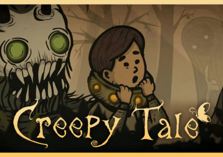 Unaltered Magazine: Creepy Tale Review banner