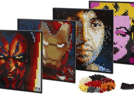 Unaltered Magazine: LEGO Art News