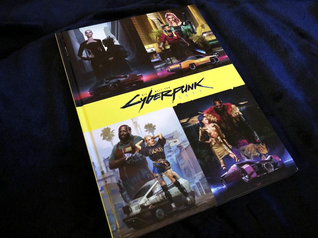 Die Welt von Cyberpunk 2077 Artbook - Review von Unaltered Magazin